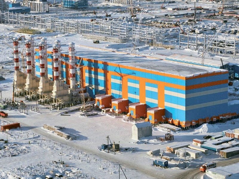 The domestic gas producing company Yamal LNG is carrying out the project for the construction of LNG plant at present. The prospective enterprise was initially planned to be built in 3 stages based on the South Tambey field. The projected facility capacity was anticipated at 16,5 mtpa of gas.